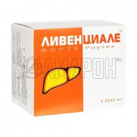 Ливенциале Форте Роутек капс., 960 мг, №100