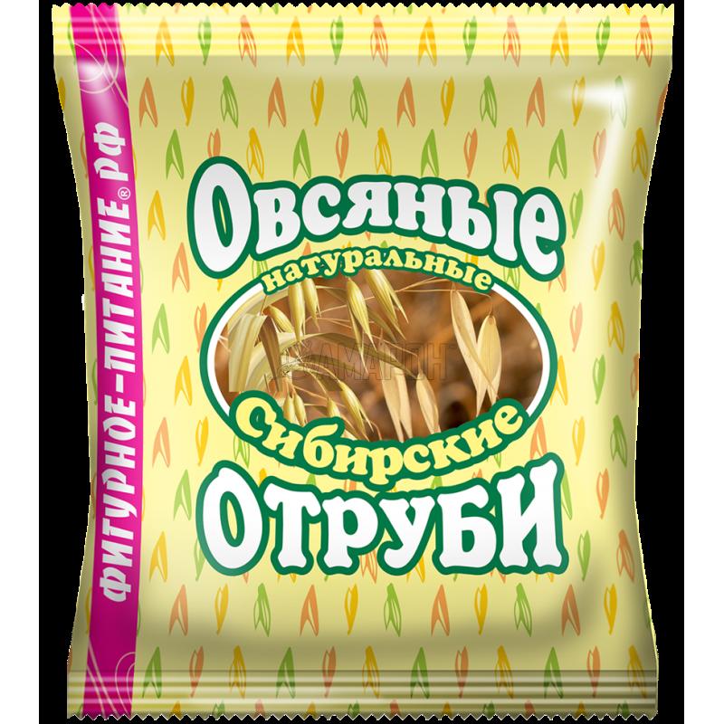 Отруби сибирские овсяные натуральные 200 г | доставка +7 дней