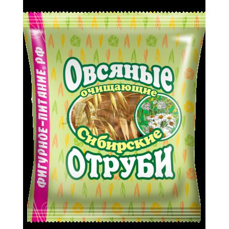 Отруби сибирские овсяные очищающие 200 г