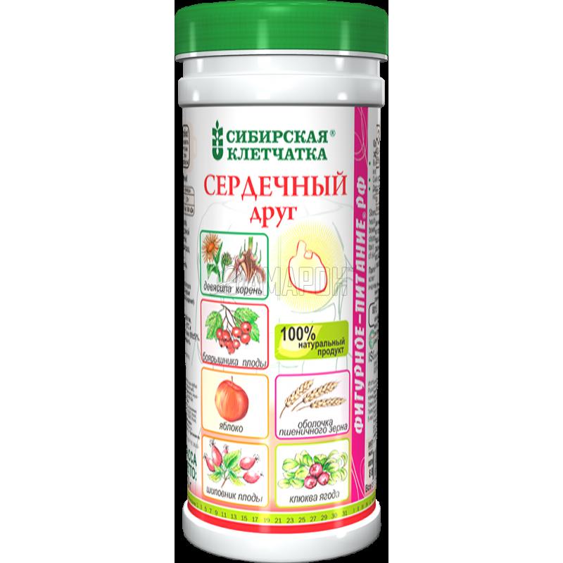 Сибирская клетчатка Сердечный друг 170 г | доставка +7 дней