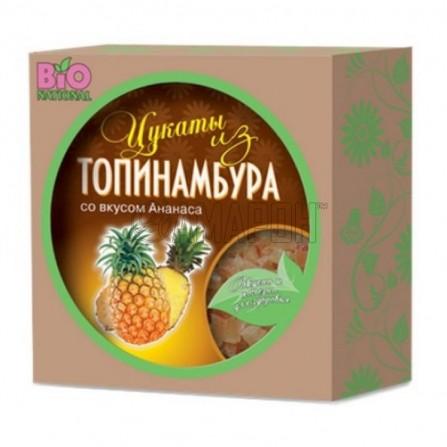 Топинамбура цукаты Bionational (ананас, апельсин, натурал.), коробка, 100 г Series