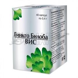 Гинкго билоба-ВИС капс., 0,4 г, №40