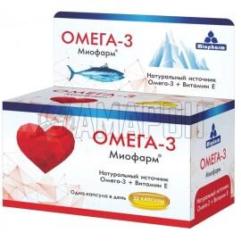 Омега-3 миофарм капс., 1000 мг, №32