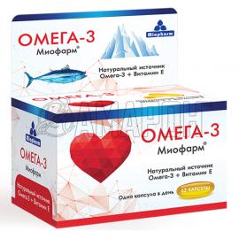 Омега-3 миофарм капс., 1000 мг, №62