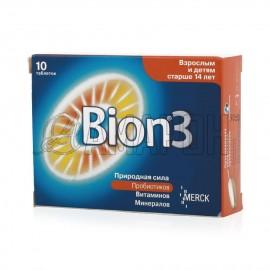 Бион 3 таб., 1050 мг, №10