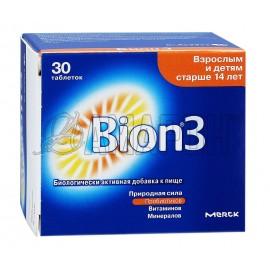 Бион 3 таб., 1050 мг, №30
