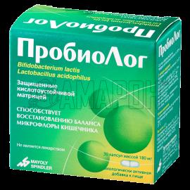 ПробиоЛог капс., 180 мг, №30