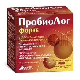 ПробиоЛог Форте капс., 227 мг, №30