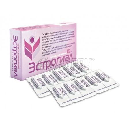 Эстрогиал крем для интимной гигиены дозированный 1,2 г, №10