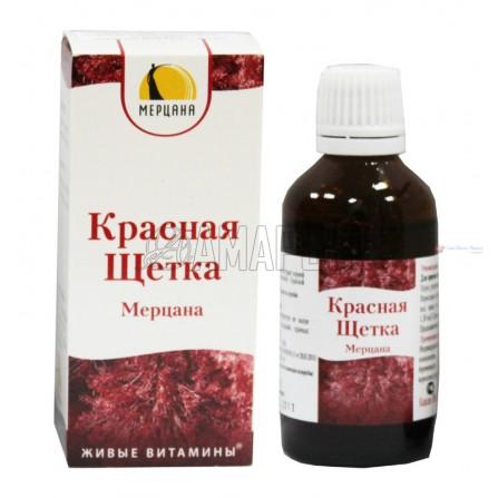 Красная щетка капли Мерцана, 50 мл