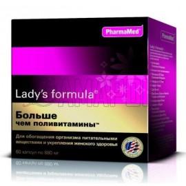 Леди-с формула больше чем поливитамины капс., 880 мг, №60