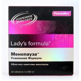 Леди-с Формула Менопауза усиленная формула 860 мг, таб., №30
