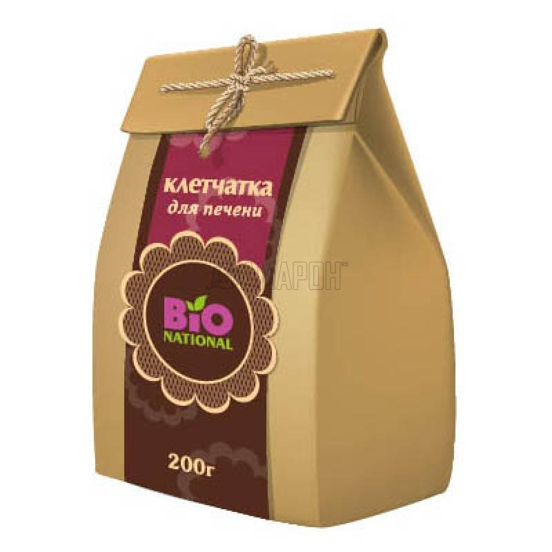 Клетчатка для печени Bionational в эко-упаковке 200 г | доставка +10 дней