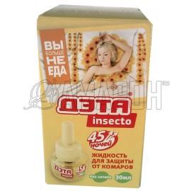 Дэта Инсекто жидкость от комаров 45 ночей, флак., 30 мл
