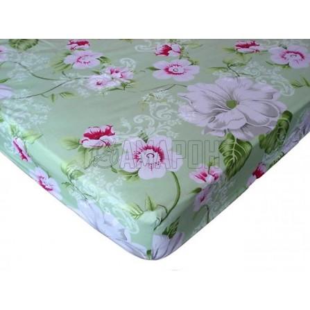 Простыня на резинке хлопковая Dolce Vita 180х200х20 см (расцветки в ассортименте)
