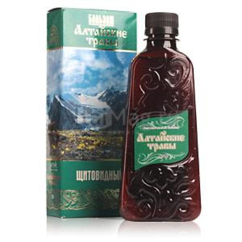 Алтайские травы бальзам №10 (щитовидный) 250 мл