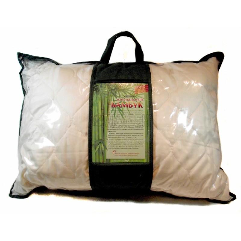 Подушка с наполнителем из бамбукового волокна (Премиум) 50х70 см