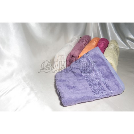 Полотенце бамбуковое Cestepe/Karna Premium 50х90 см