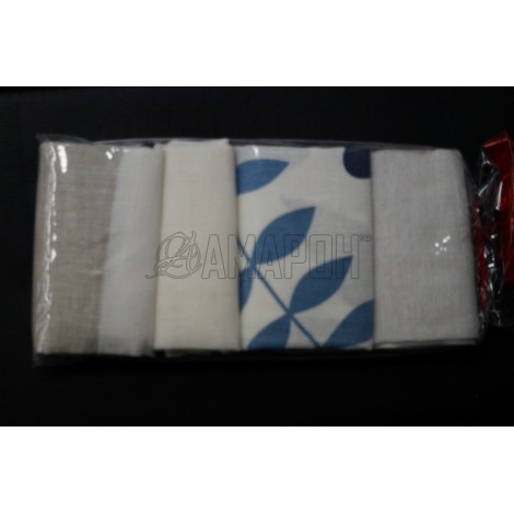 Полотенца льняные Ассорти 50х70 см, 3 шт.