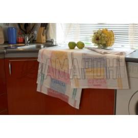 Полотенца льняные Неделька 50х70 см, 7 шт.