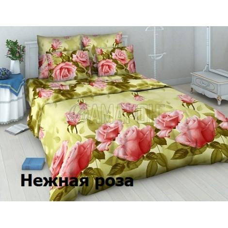 Выберите расцветку КПБ 3-D (хлопок):: Нежная роза 4172