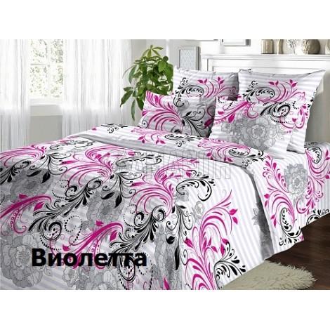 Постельное белье льняное 1,5-спальное, лен/хлопок (5 расцветок)
