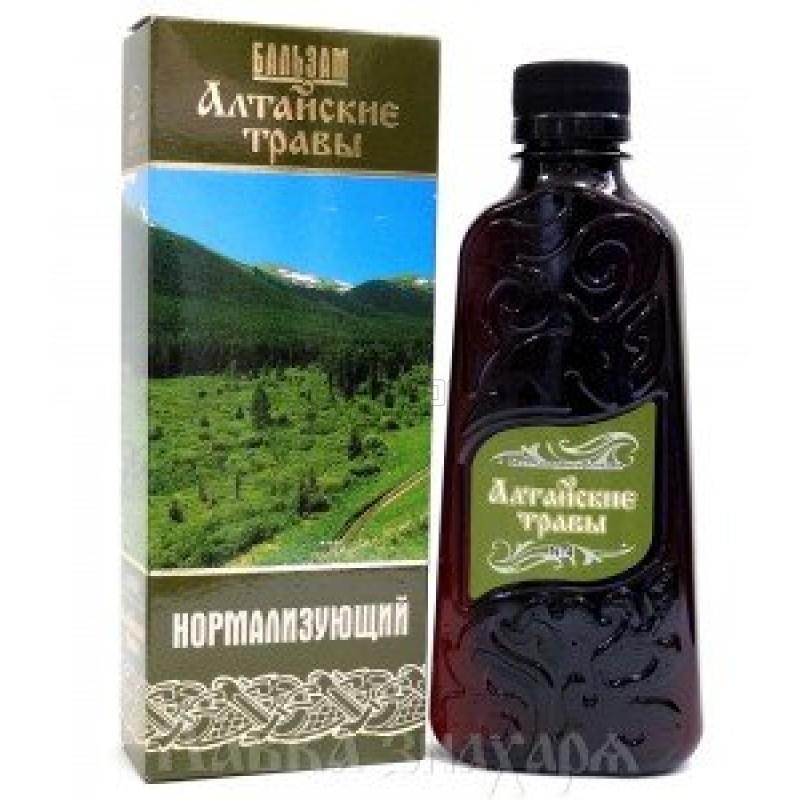 Алтайские травы бальзам №4 (нормализующий) 250 мл