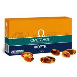 Омеганол Форте 500 мг, капс., №30