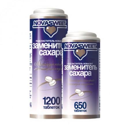 Заменитель сахара (подсластитель) НоваСвит таб., 0,06 г, №1200