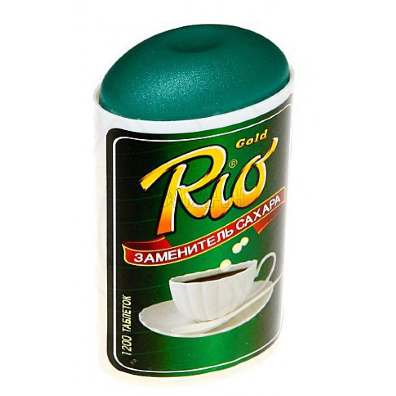Рио Голд заменитель сахара, таб. Series