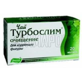Турбослим Чай очищение (для коррекции фигуры) 2 г, ф/пакеты, №20