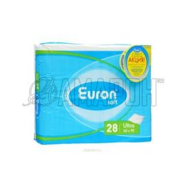 Еврон Софт ультра пеленки (простыни) одноразовые впитывающие 60х90см, №30