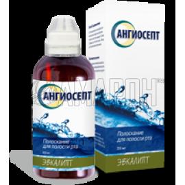 Ангиосепт полоскание для полости рта с эвкалиптом, 200 мл