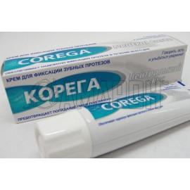 Корега крем для фиксации зубных протезов (экстра сильный мятный), 40 мл