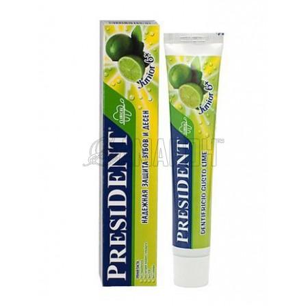 Президент Джуниор зубная паста (лайм) от 6 лет 50 мл