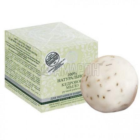 Натура Сиберика мыло ручной работы кедровое, прополисное, снежное, 100 г Series