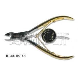 Зингер кусачки маникюрные с ручной заточкой Zinger zo-B-188-HG-BJ-SH