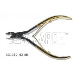 Зингер кусачки маникюрные с ручной заточкой Zinger zo-MC-350-HG-SH