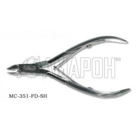 Зингер кусачки маникюрные с ручной заточкой Zinger zo-MC-351-D-SH