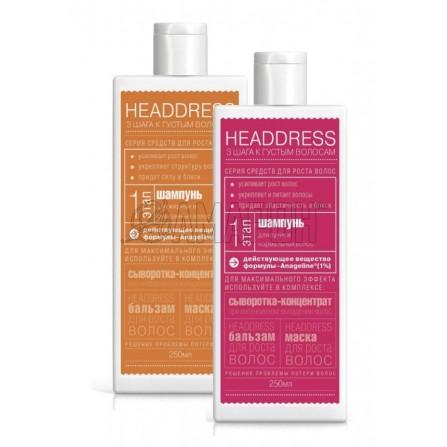 ХэдДресс Шампунь для роста волос Для сухих и нормальных волос 250 мл ГринЛаб