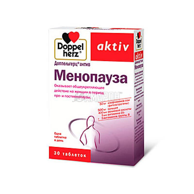 Доппельгерц актив менопауза, 1713 мг, таб., №30