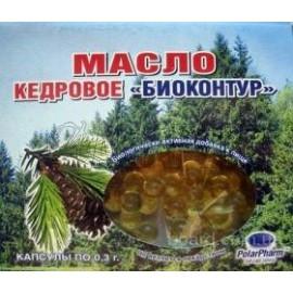 Масло кедровое БиоКонтур 0,33 г, капс., №60