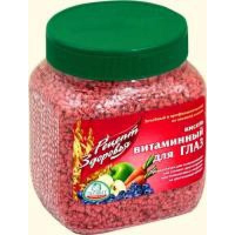 Кисель витаминный для глаз с лютеином, банка, 400 г | доставка +10 дней