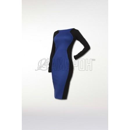 Платье футляр Волна Sheath dress Z143